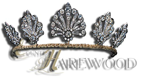 mary princess royal lavalliere diamond chain and drop