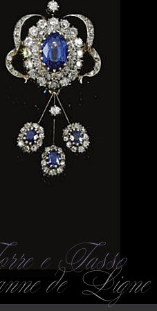 Mellerio dit Meller Royal Jewels Sapphires from Princess Eugenie of Greek
