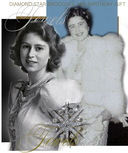 Queen Elizabeth II |Diamond Stars 16th Birthday Gift from the King and Queen of England| Royal Jewels Great Britain and Irland