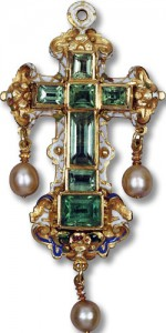 Wedding Present Emerald Cross late 16th century