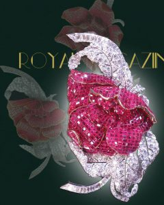 Princess Faiza Ruby Brooch Royal Jewel History |Van Cleef & Arpels