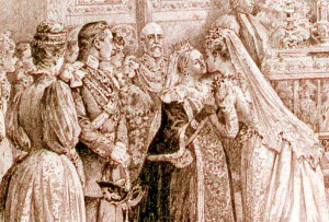 Royal Marriage of Princess Marie Louise of Schleswig- Holstein