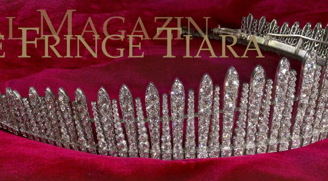 The FIFE FRINGE TIARA | Tiara RUSSE Diadem | Diamond Kokoshnik | Princess Louise of Wales Wedding Gift from her parents Queen Alexandra and King Eduard