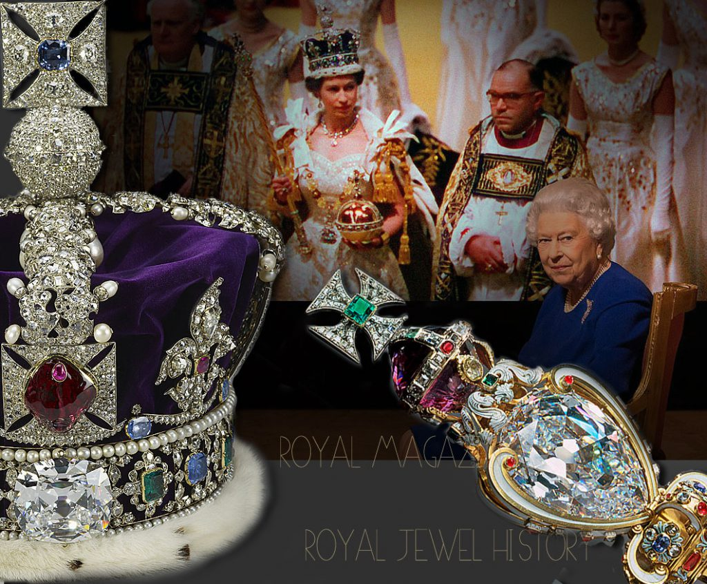 Queen Elizabeth II Coronation Jewels Crown | Royal History Diamond State Crown
