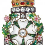 Rose of York Brooch | Rose of York Brooch with enamel | Gift to the bridemaids from new  weds