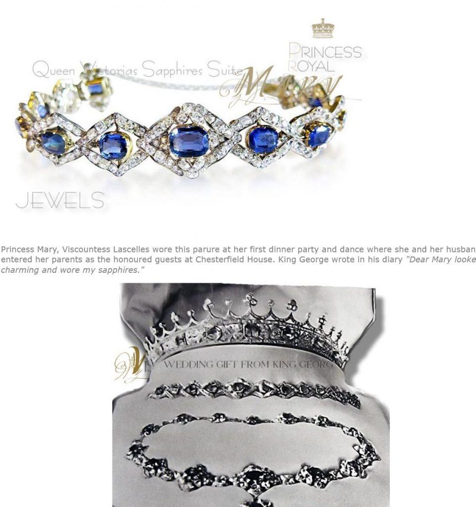 Royal Sapphires - Queen Victoria's Sapphire and Diamond necklace and pendant, bracelet Royal Sapphire Parure Suite sapphire coronet sapphire tiara sapphire bracelet sapphire necklace sapphire brooch royal jewels queen victoria