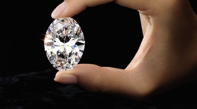 'Manami Star' Spectacular 88.22-Carat Oval Diamond | named after his daughter