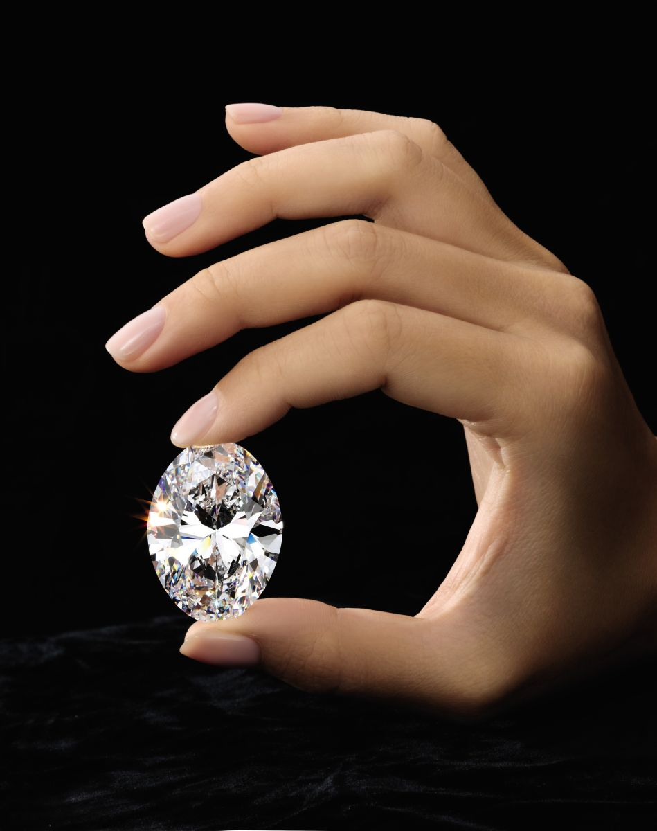 88.22 carats Diamond, this lucky stone now carries the name of the fortunate child whose father has chosen to give it her name