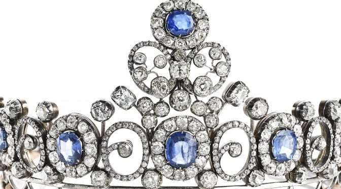 Who bought Queen Alexandrine's Russian Sapphire Tiara?