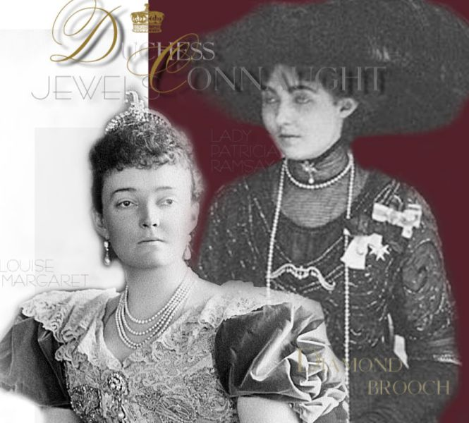 Princess Patricia of Connaught | Indian Diadem of Diamonds and Emeralds | Stomacher Brooch Royal Jewel | Wedding Gift from Queen Victoria