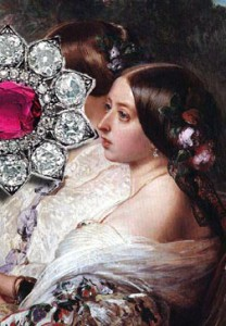 Queen Victoria of England | Ruby Jewels History