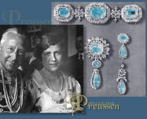 Kronprinz Wilhelm von Preussen und Schwiegertochter Prinzessin Dorothea and his daughter-in-law Princess Dorothea | Queen Luises Aquamarine