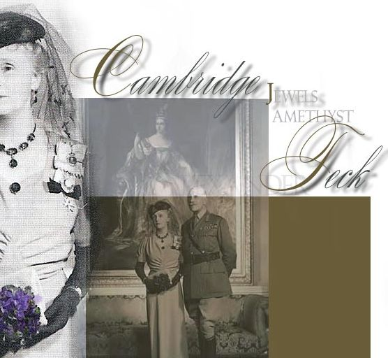 Princess Alice | Amethyst diamond necklace brooch earrings| Queen Victoria's Amethysts| Countess Athlone | Royal Jewels