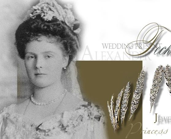 Princess Alice of Albany Wedding-athlone gifts