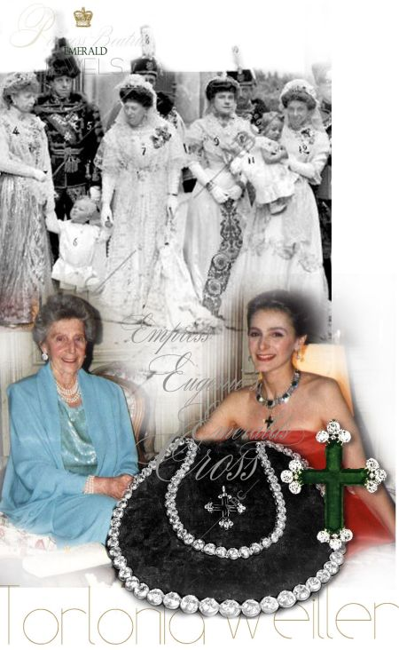 Andean Emerald Cross| Infanta Beatrice of Spain| Torlonia| Weiller Princess Torlonia Civitella-Cesi| Princess  Donna Isabella Olimpia