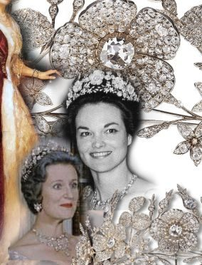 Eglantine Jasmine Flower Diamond Tiara Diadem |Duchess of Bedford Marchioness of Tavistock Historic Jewels