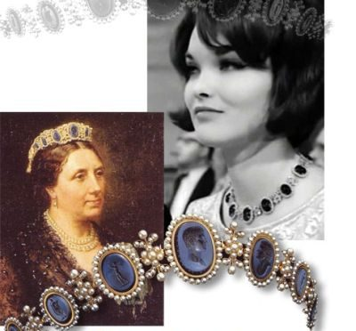 Intaglio Cameo Tiara Diadem |Duchess of Bedford Marchioness of Tavistock Historic Jewels