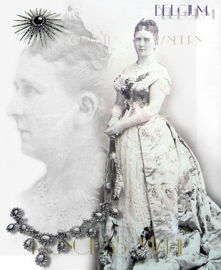 Big Star Brooch Princess Marie of Hohenzollern| Countess of Flanders Wedding Gift |Reine de Belgique| Queen Belgium Royal JEWELS, joyaux royaux,