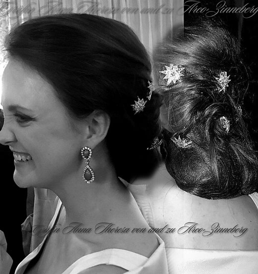 Gräfin Anna Theresa von und zu Arco-Zinneberg Diamant Sterne | Empress Sisi Diamond Stars