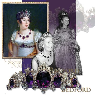 Tavistock Amethysts Amethyst Parure |Duchess of Bedford Marchioness of Tavistock Historic Jewel