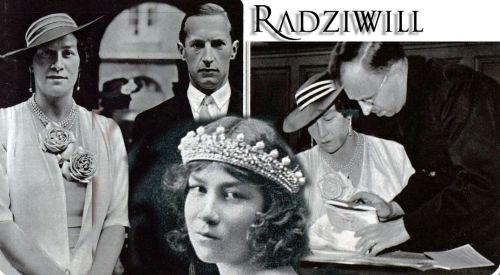 Standesamtliche Trauung von Prinzessin Eugenie von Griechenland - Dänemark mit dem Prinzen Radziwill|Civil Marriage