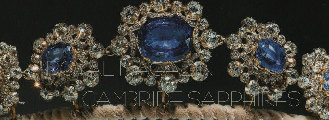 Cambridge Sapphire Parure Queen Mary of Great Britain Irland