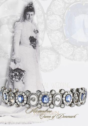 Queen Alexandrine's Russian Sapphire Tiara