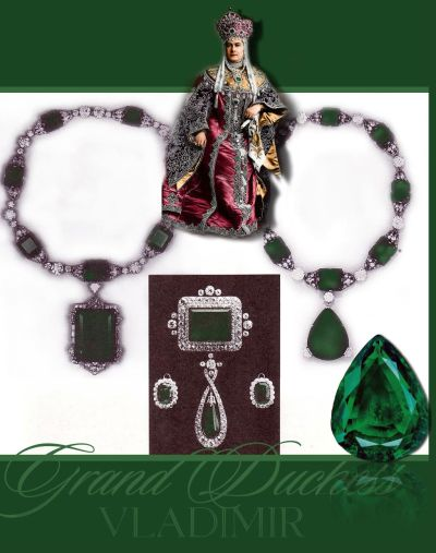 Grand Duchess Vladimir's Emeralds | Second most beautiful large emerald in the world