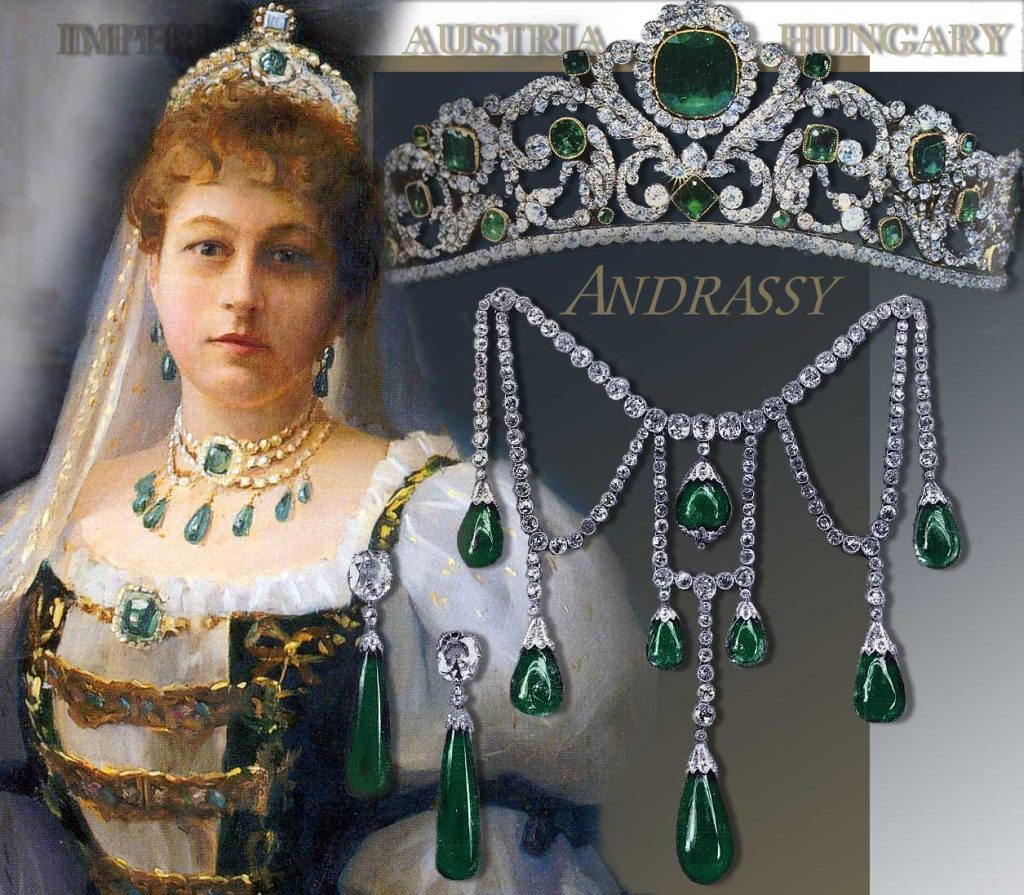 Emerald Tiara Diadem of the Duchess of Angouleme| France Imperial Royal Jewels