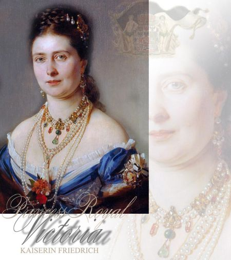 Wedding Crownprincess Victoria - Empress Friedrich | Prussia Hohenzollern Ouhd Necklace |Royal Gifts and Presents to Princess Royal Victoria