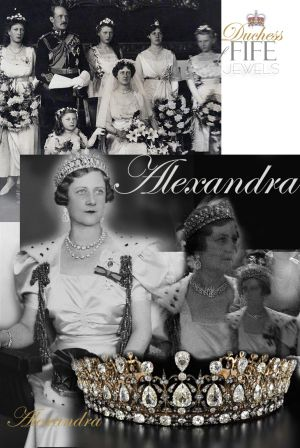 Massin diamond tiara | Royal Wedding Jewels Diamond  Duchess of Fife |  Princess Alexandra of Connaught |  Diamant Diadem History