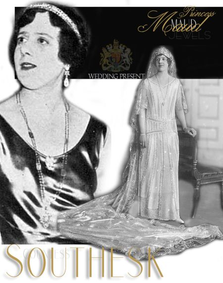 Princess Maud Fife Tiara Wedding