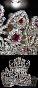 The French Crown Ruby Parure | Imperial Royal Jewels |Chaumet