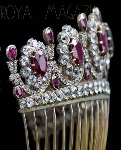 Imperial French Crown Jewels Ruby Rubies Parure Suite | Imperatrice Empress Kaiserin