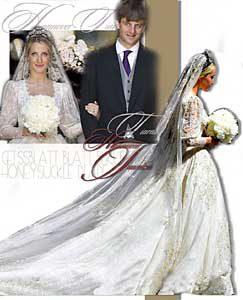 Geissblatt Diamant Tiara |Hochzeits Diadem der Erbprinzessin Ekatarina von Hannover