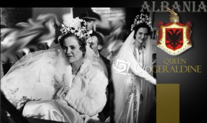 Geraldine of Albania Marriage|Royal wedding gown