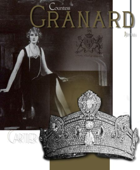 Grosser Kokoshnik Cartier Diamant Tiara | Granard Juwelen Schmuck| Beatrice Ogden Mills| Forbes Familien Juwelen|Countess of Granard Large Kokoshnik Cartier Diamond Tiara | Granard Jewels | Beatrice Ogden Mills|Forbes Family Jewel|Countess of Granard