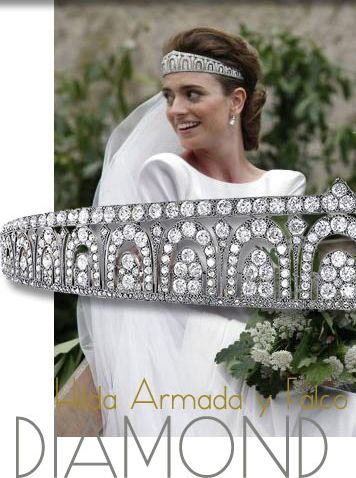 FOUNTAINS - ART DÉCO DIAMOND TIARA | CARTIER
