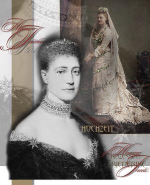 Friederike Prinzessin von Hannover|Prinzessin von Großbritannien und Irland | Royale Hochzeits Geschenke | Königlicher Schmuck und Juwelen der Braut
