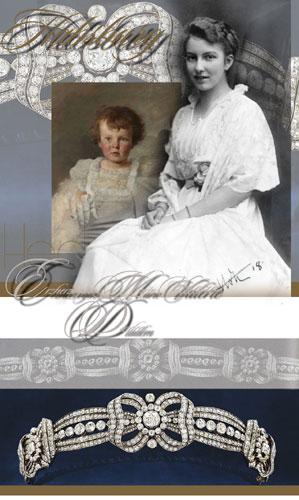 Erzherzogin Hedwig Hochzeits Diadem | Habsburg | Stolberg-Stolberg | Geschenk von Erzherzogin Marie Valerie
