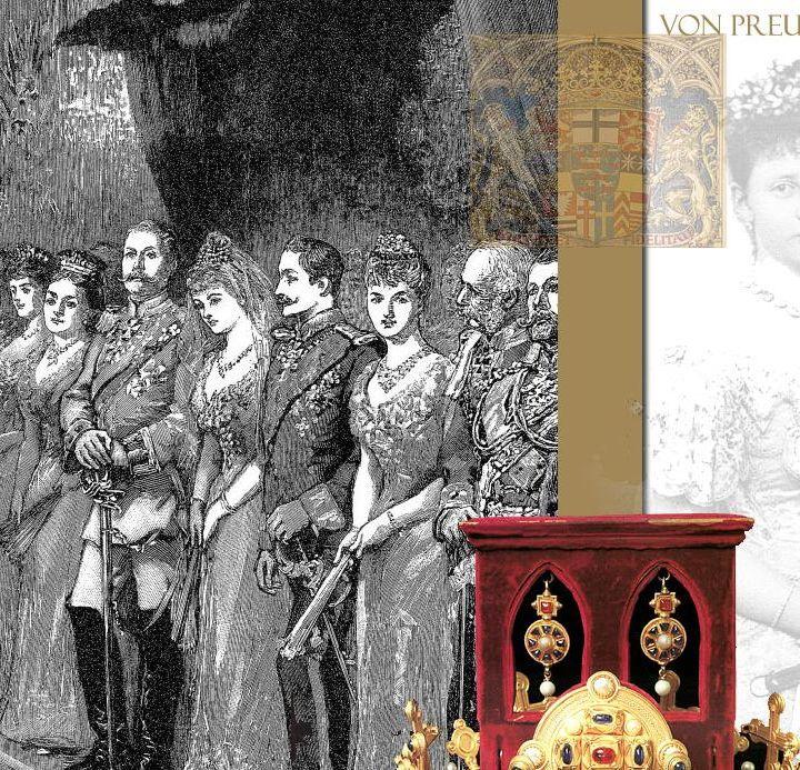 Festlichkeiten die Vermählung der Prinzessin Margarethe mit dem Prinzen Friedrich Karl von Hessen