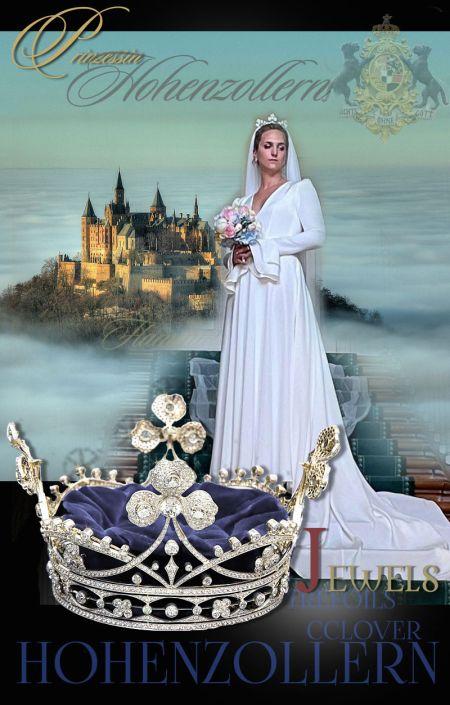 Diamond Crown Trefoils Flaminia Princess of Hohenzollern-Sigmaringen | Wedding Tiara Bridal Crown| German Royal Jewelry Diamond Crown Trefoils Flaminia  Princess of Hohenzollern-Sigmaringen | Wedding Tiara Bridal Crown| German Royal Jewelryflaminia of hohenzollern,princess of hohenzollern,hohenzollern-sigmaringen,trefoils crown,diamond clover diadem tiara,Diadem,Krone,Hohenzollern,kleeblatt prinzessin flaminia tiara,tiara,diademe,diademas,diademes,Princess, of Hohenzollern,Bride,Prinzessin,hochzeit,diamond,deutsche,royal jewels,wedding,schmuck,jewellery,kaufen,diamant,diamonds,royalty,germany,german royals,prinzessin flaminia,princess hohenzollern sigmaringen,2021,royal jewel history,royal jewels Wedding Trefoil Clover Diamond Coronet Crown Bridal Tiara trefoildiadem trefoils tiara colver diamond diademe bridal tiara with diamonds of SigmaringenDiamant Krone mit Kleeblätter des Fürstenhauses Hohenzollern Brautkrone bridal crown of the princess of hohenzollern Sigmaringen royalty royal wedding royal jewels royal jewel history germanroyals hohenzollernhochzeit mariage royales