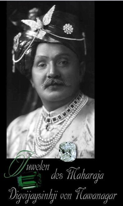 Important Mugal Jewelry  The Nawanagar Emerald-Necklace | Sketch | Design | Details The small Cartier Emeralds Necklace | Pearls and Aigrettes The Emerald-Beads-Necklace| PrincelNawanagar The famous Emerald-Necklace| Long Sautoir Maharaja Nawanagar Mugal Gems Jewels Sketch old famous Emerald-Necklace| Nawanagar Mugal Gems Jewels The Emerald-Beads-Necklace | Maharaja Nawanagar Gems Jewels The Eye of the Tiger Aigrette|Royal Famous Diamond |L'Oeil du Tigre, le plus grand diamant brun rich The Ceremonial-Necklace | Royal Jewels Mugal Famous Diamonds The Ruby-Necklace | Nawanagar Rubies Cartier Jewellery