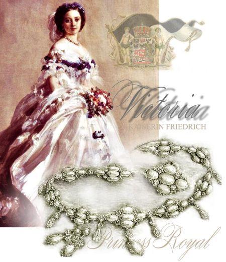 Wedding Crownprincess Victoria - Empress Friedrich | Wedding Gifts and Presents  Opal parure opal jewels