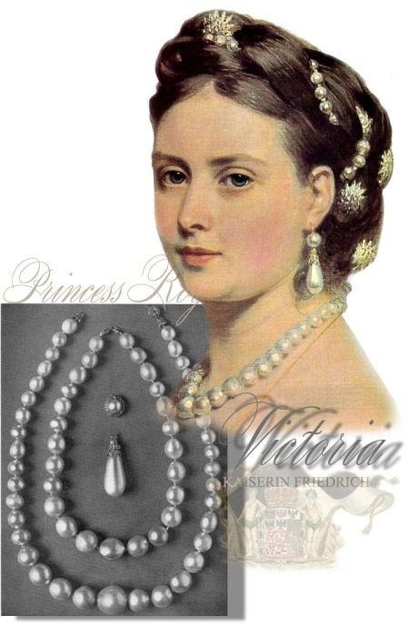 Imperial Pearls Princess Royal | Prussia Hohenzollern History