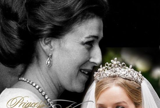Princess Alexandra of Kent | Ogilvy Diamond Flower Tiara |  Wedding Flora Alexandra Ogilvy