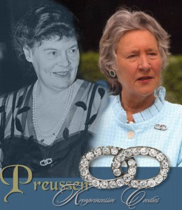Kronprinzessin Cecilie von Preussen | Diamant Brosche | Schmuck |