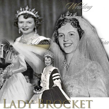 Lady Brocket Palmette Diamond Tiara | History Wedding Diadem | Historic Noble Jewelry