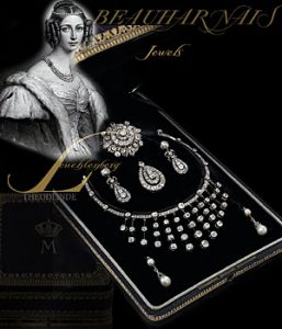 Kaiserin Josephine Beauharnais |Imperial Pearls and Diamonds Beauharnais Juwelen der Herzogin von Leuchtenberg |Urach Altieri