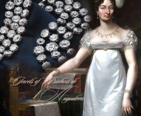 Diamond BraceletS Madame Royale Duchess d'Angoulême |The Marie-Antoinette Diamonds